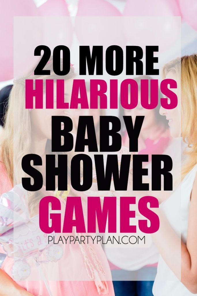 20 MORE Hilarious Baby Shower Games With Everything From Active Baby Shower  Games To Printable Baby Shower Games! Tons Of Great Ideas On Http://plau2026
