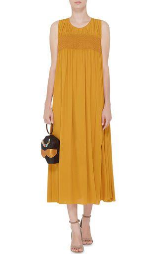 Silk Blend Sleeveless Alisha Dress by NO. 21 Now Available on Moda Operandi