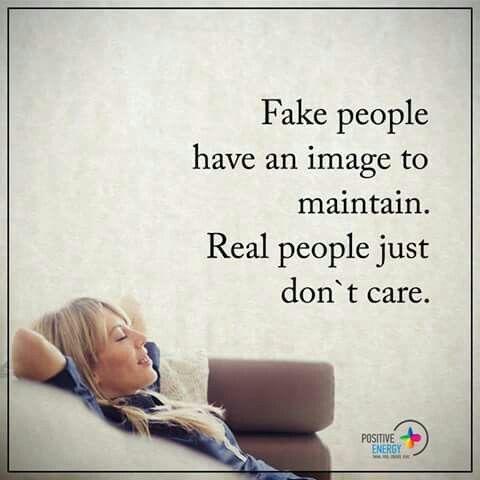 Fake vs Real people
