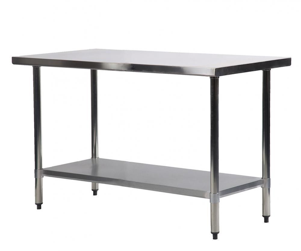 Details About 24 X 48 Stainless Steel Kitchen Work Table