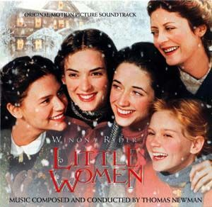 Little Women soundtrack AND movie! It just isn't Christmas without it for me.....
