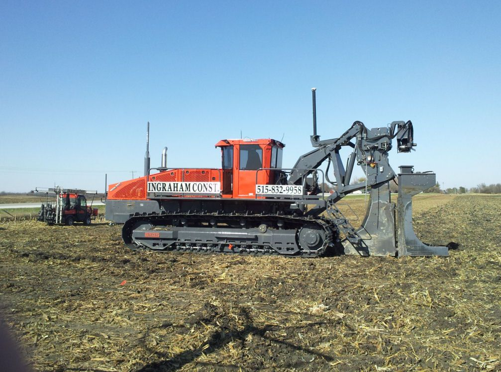 bron tile plow | Ingraham Construction Inc  ~ Projects & Contracts