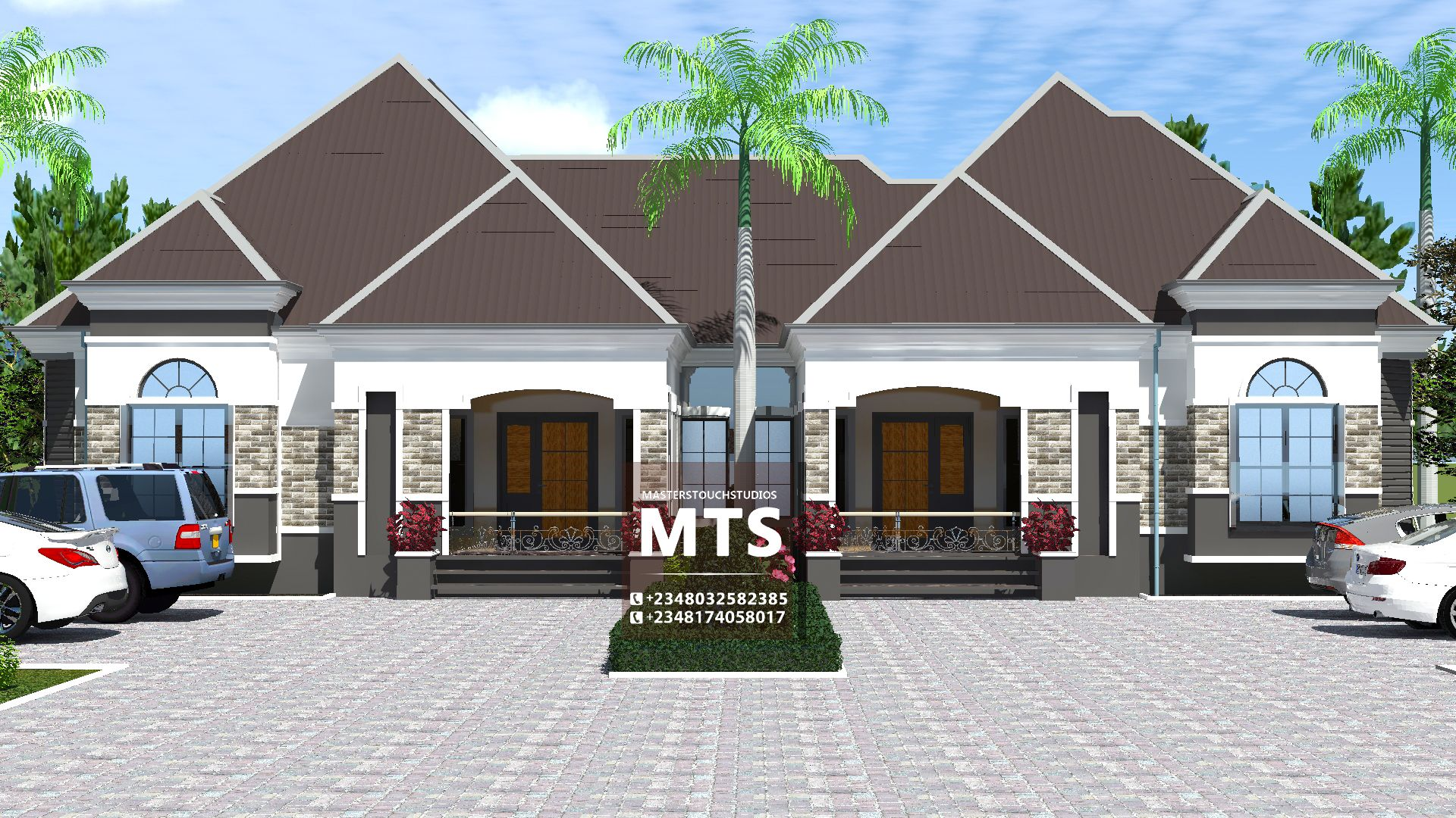 3 2 Bedroom Bungalow Rf Sd3201 In 2020 Bungalow House Design Architect Design House Bungalow Design