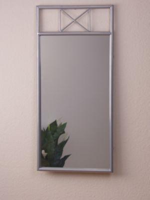 Dieser tolle Wandspiegel ist ein Schnäppchen und verschönert jeden Flur oder das Schlafzimmer.