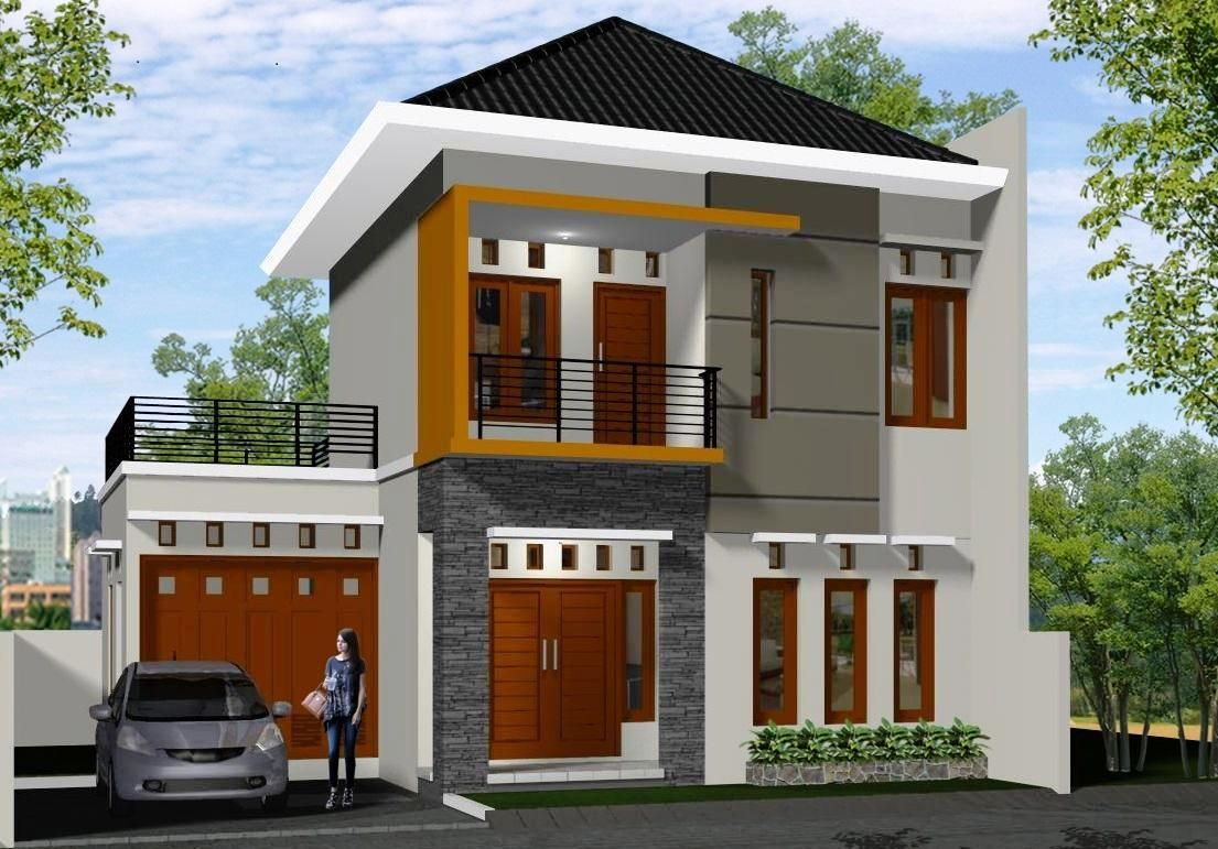 Trik Dan Langkah Efisiensi Lahan Rumah Minimalis 2 Lantai Rumah
