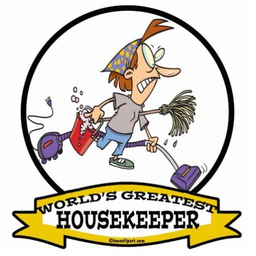 Funny Housekeeping Cartoons