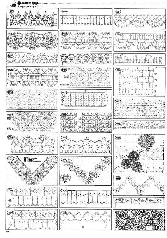 Pin de Léria en Gráficos crochê | Pinterest | Patrón gratis ...