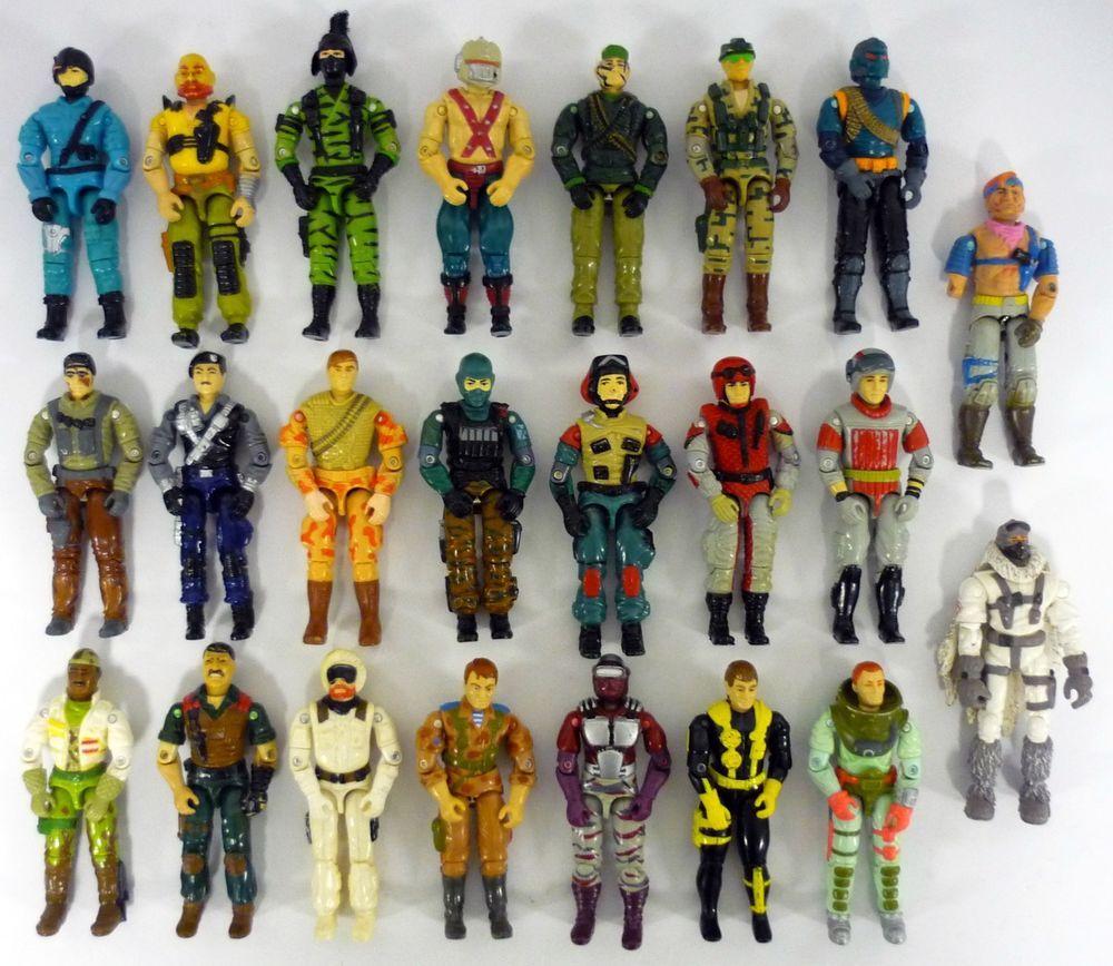 JOE COBRA ARAH Action Figures YOU PICK! HUGE Collection Lot of 1985 G.I