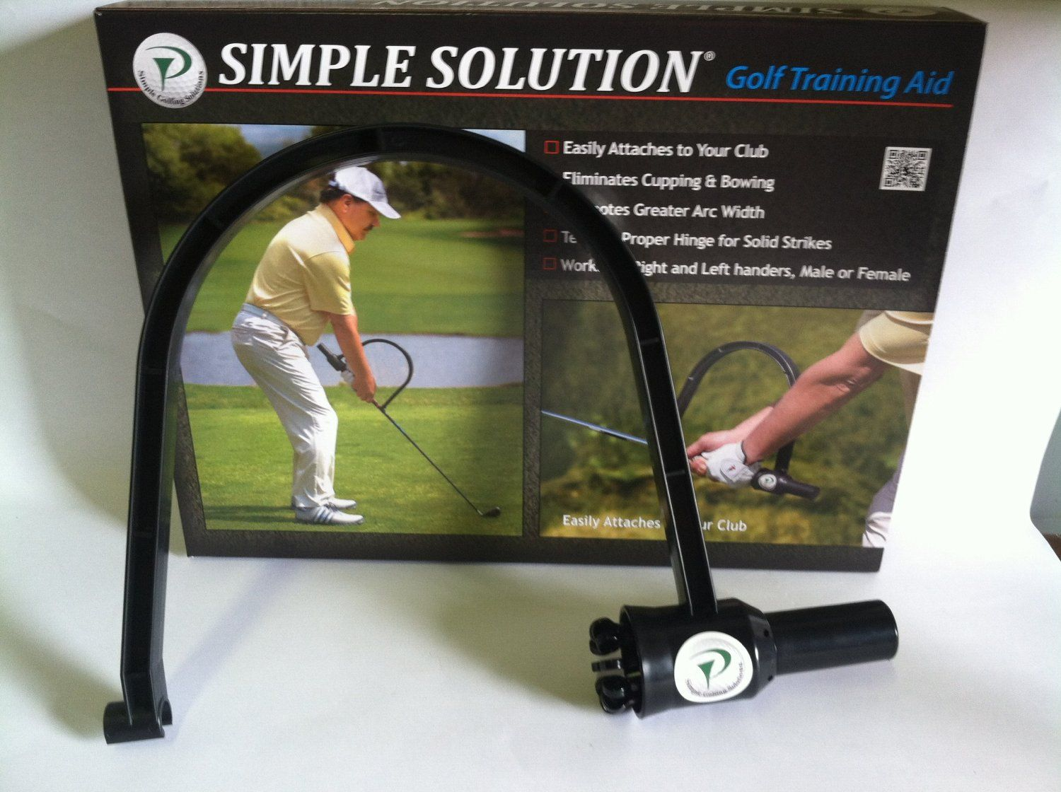 This Revolutionary Golf Swing Training Aid By Simple Solutions Promotes A One Piece Takeaway With