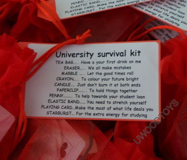 18th Birthday Survival Kit Birthday Gift Novelty Present: Novelty Gift Mini Survival Kit : University