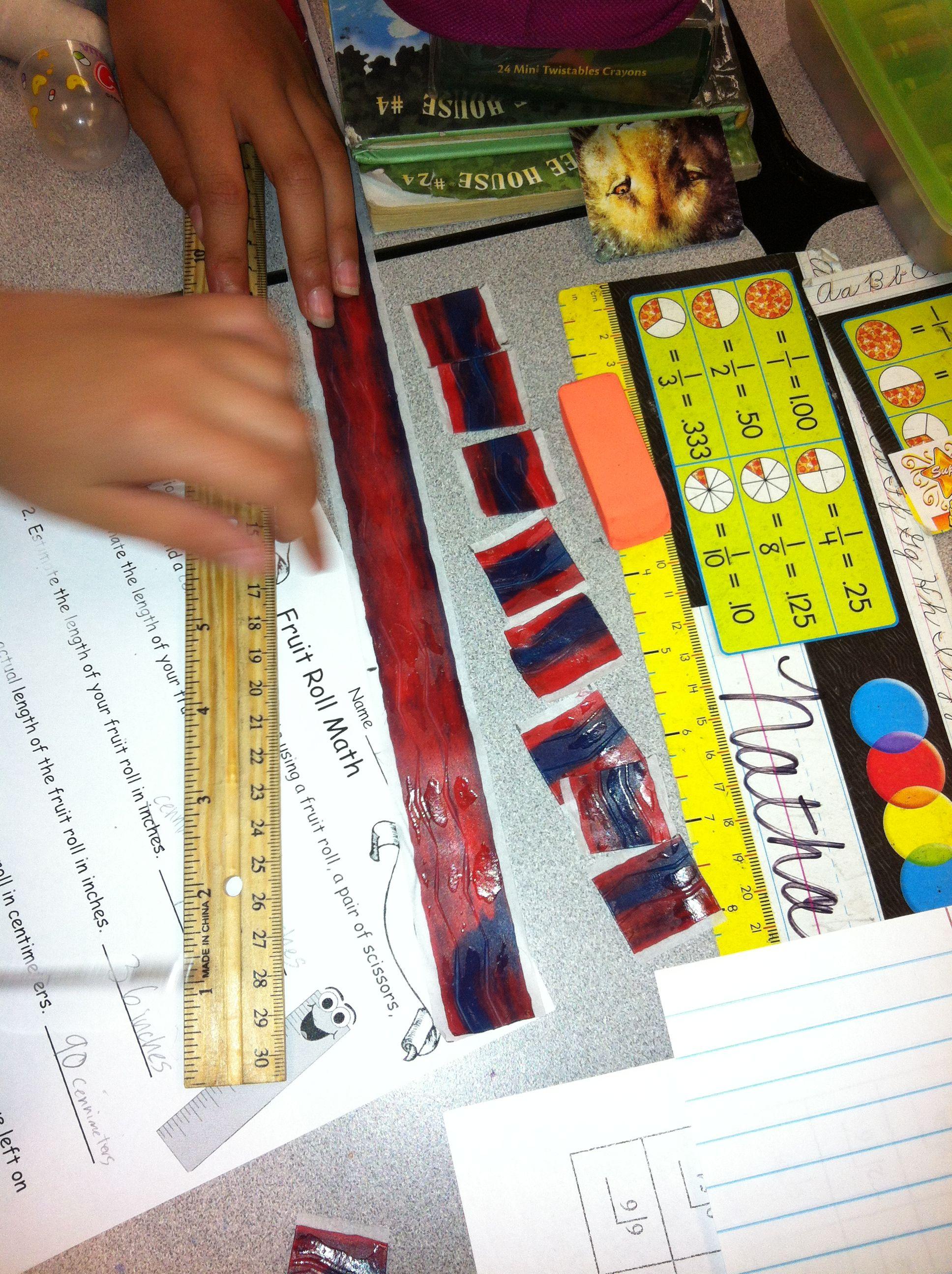 Fruit Roll Measurement