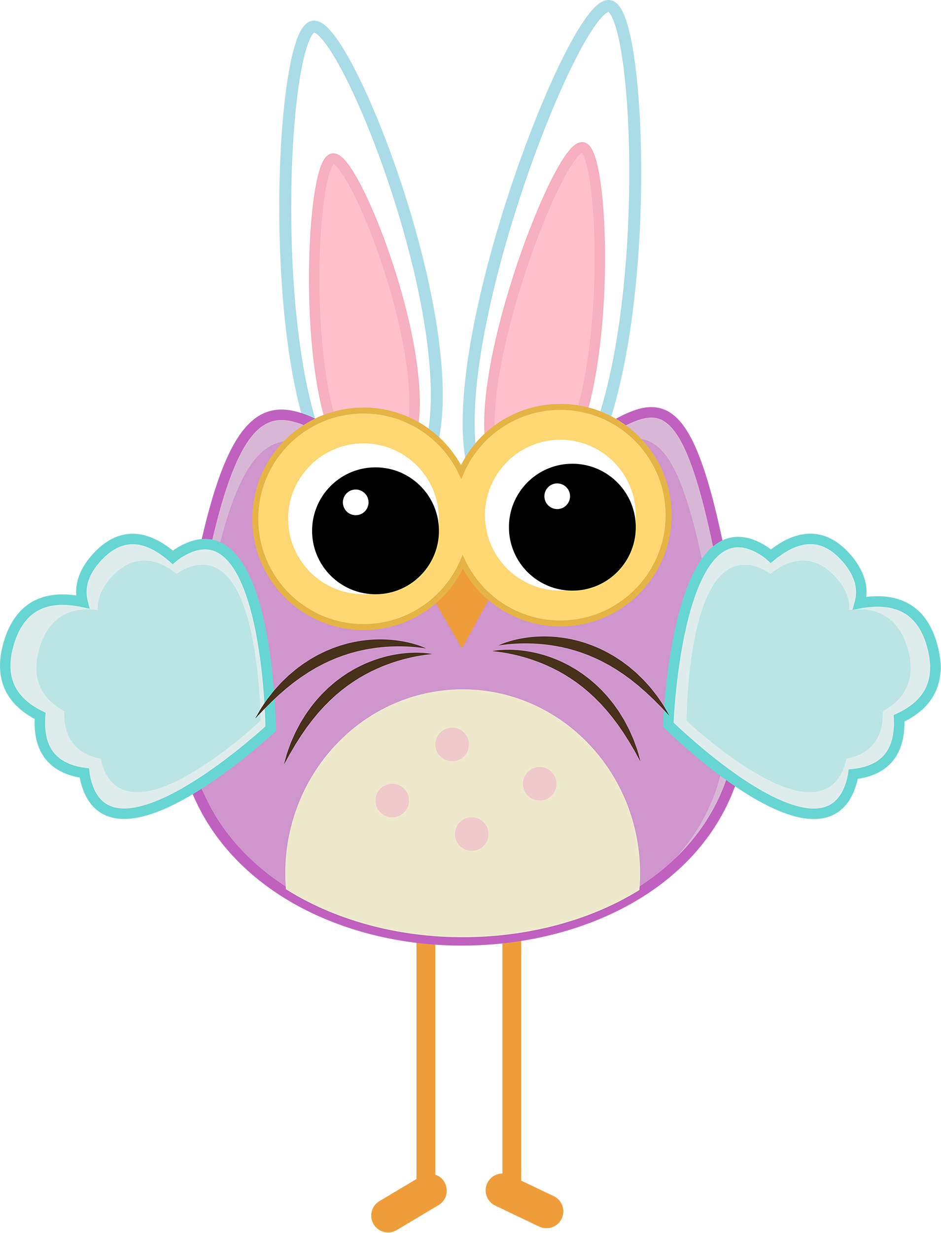 Pin Paula Bloom Craft Ideas Easter Bunny And Owl