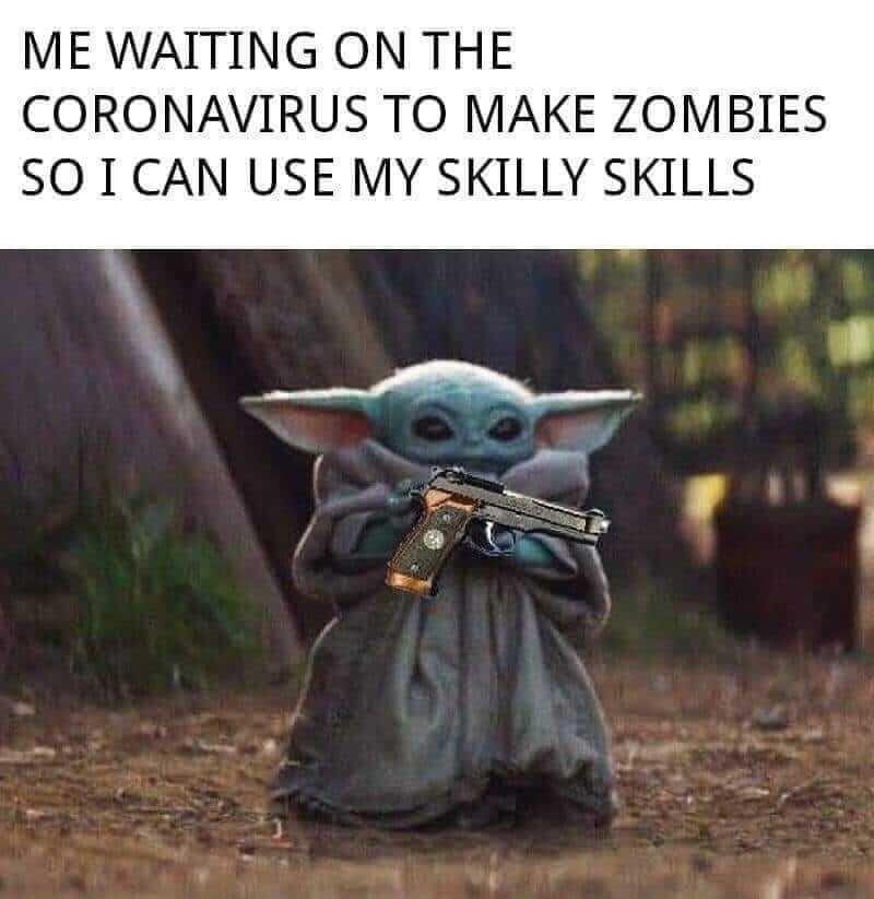 Memes Baby Yoda En Espanol Memes Baby Yoda Komik Internet Fenomenleri