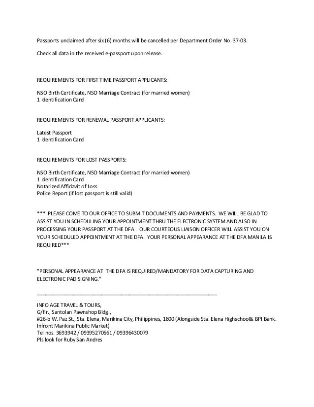 Passport Authorization Letter Sample Consent Letter For Work