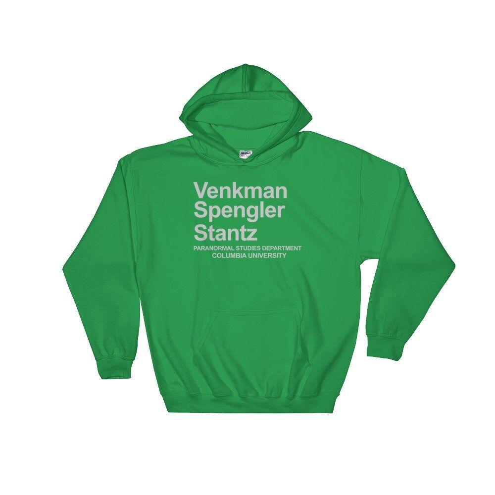 Ghostbusters – Venkman, Spengler and Stantz Paranormal Studies Hooded Sweatshirt (Hoodie)