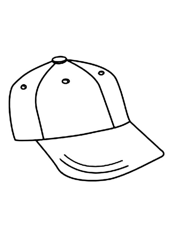 He Is Your Typical American Kid Cheery Face Large Ears Poking Beneath A Red Baseball Cap Frec Baseball Coloring Pages Coloring Pages For Kids Coloring Pages