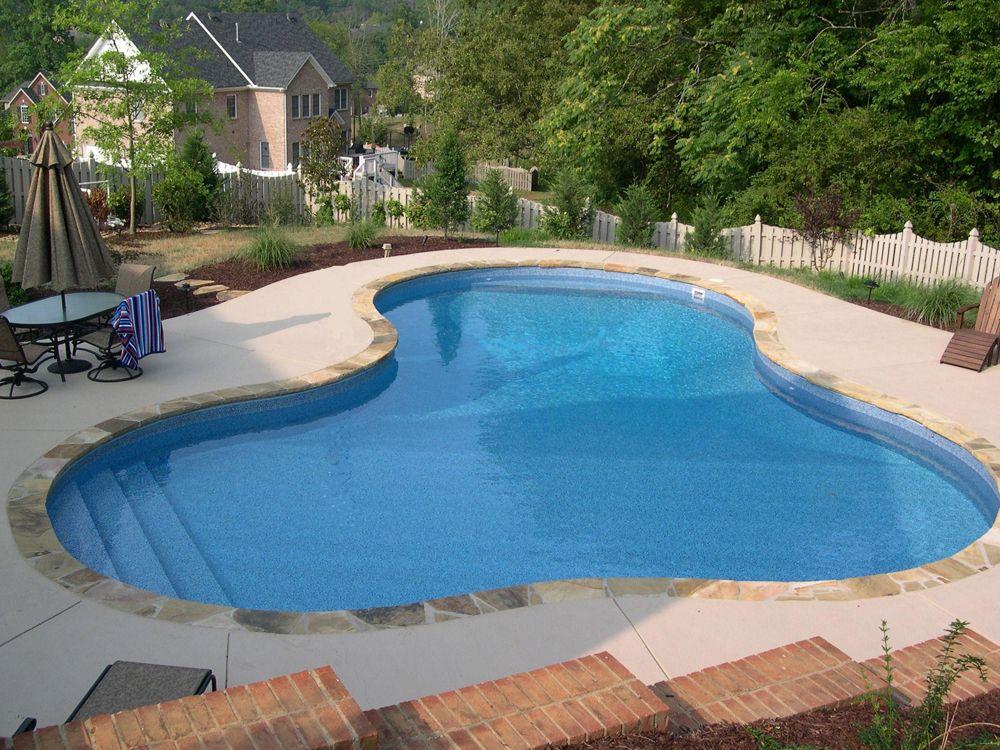 Lenoir City Pool Photos, Knoxville Custom Pool Design - Vinyl Pool ...