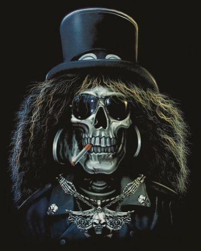 Dark Slash Skull | WAYNES REFERENCE | Pinterest | Calaveras