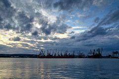 Varna (Martin Kostadinov) Tags: sea seascape clouds port cloudscape varna