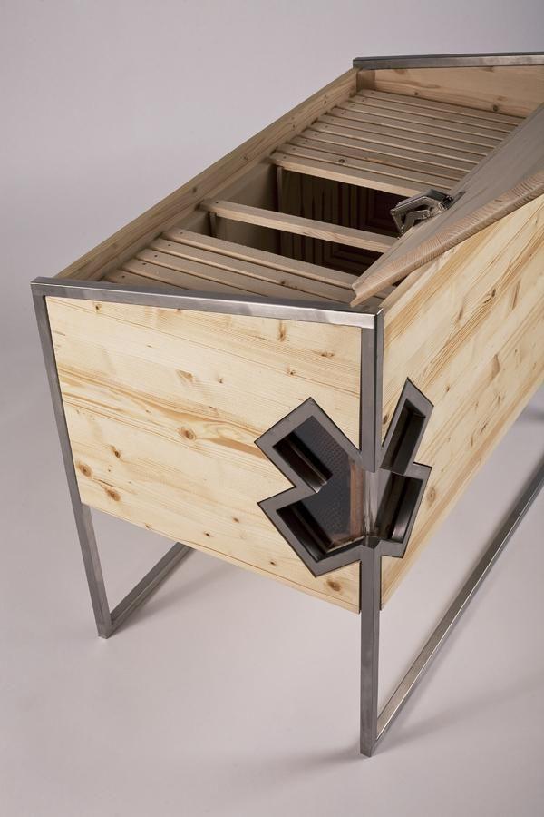 """Beehive"" design by Lucia Šupolová"