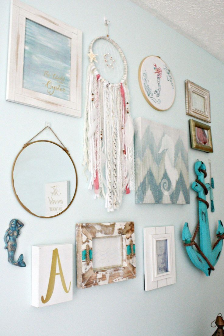 Sea Gypsy is a Boho Mermaid Bedroom. This bedroom theme combines Bohemian and Me #mermaidbedroom