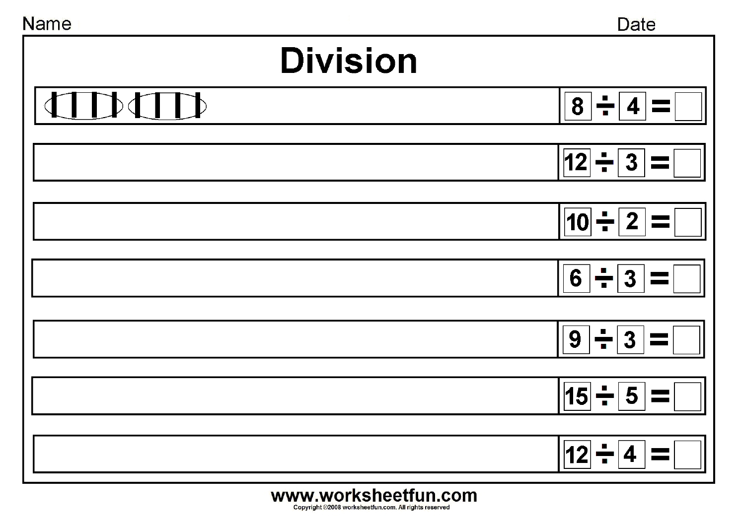 Division With Images