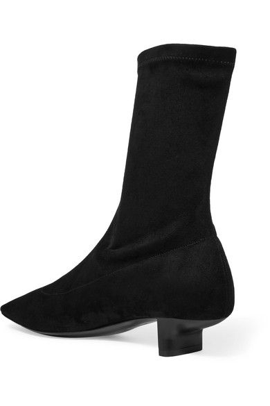 Black Faux-Leather Sock Boots Stella McCartney Cheap Sale Footlocker Pictures Cheap Nicekicks Discount 2018 New Online Shop Fake 1oeedOFl8