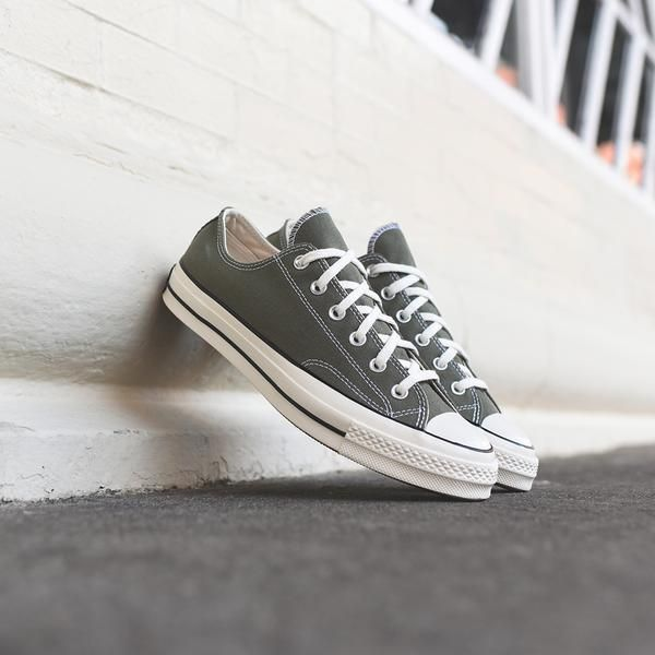 Converse Chuck Taylor 70s OX - Olive   White  a0dd4fef7