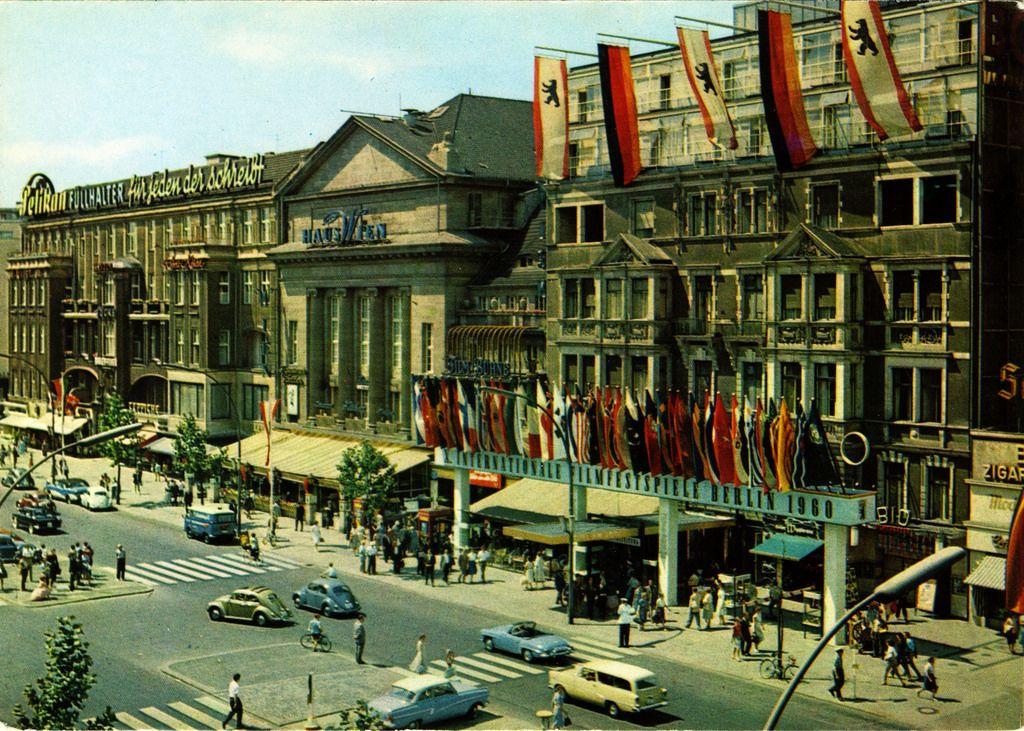 Germany Berlin 040 1960 Front West Berlin Berlin Berlin Germany