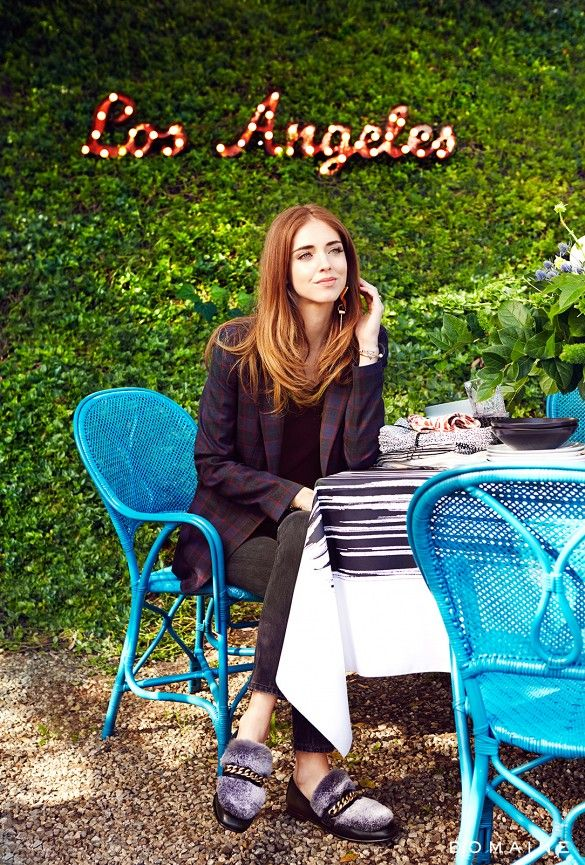 Home Tour A Beauty Vlogger S Stylish And Serene Apartment Chiara Ferragni The Blonde Salad Los Angeles Homes