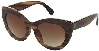 Spotted while shopping on #cult_collection –Chunky cateye sunglasses #CatEye #Eyewear #fashion #shopping #style