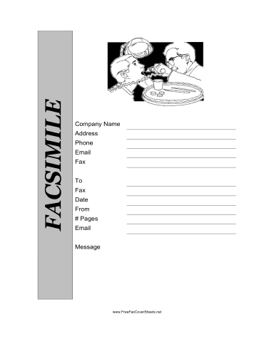 Charming This Printable Fax Cover Sheet For A Dentist Or Orthodontist Shows The  Doctor Examining The Teeth Of A Patient. Free To Download And Print