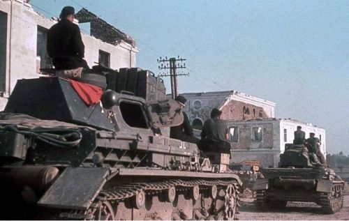Panzer IV in farb. Russia 1941
