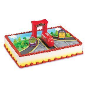 A Chuggington Cake Topper Kit for less than 8 Use your imagination