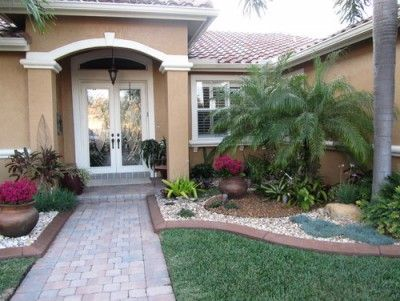 Imagenes De Jardines Para Frentes De Casas Front Garden Landscape Florida Landscaping Front Yard Landscaping Design