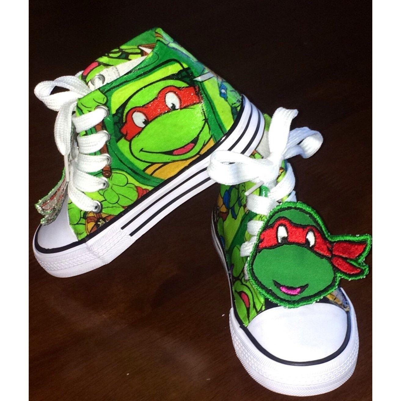 01c601aa0e25 Birthday Ninja Turtle Boys Shoe (CONVERSE)
