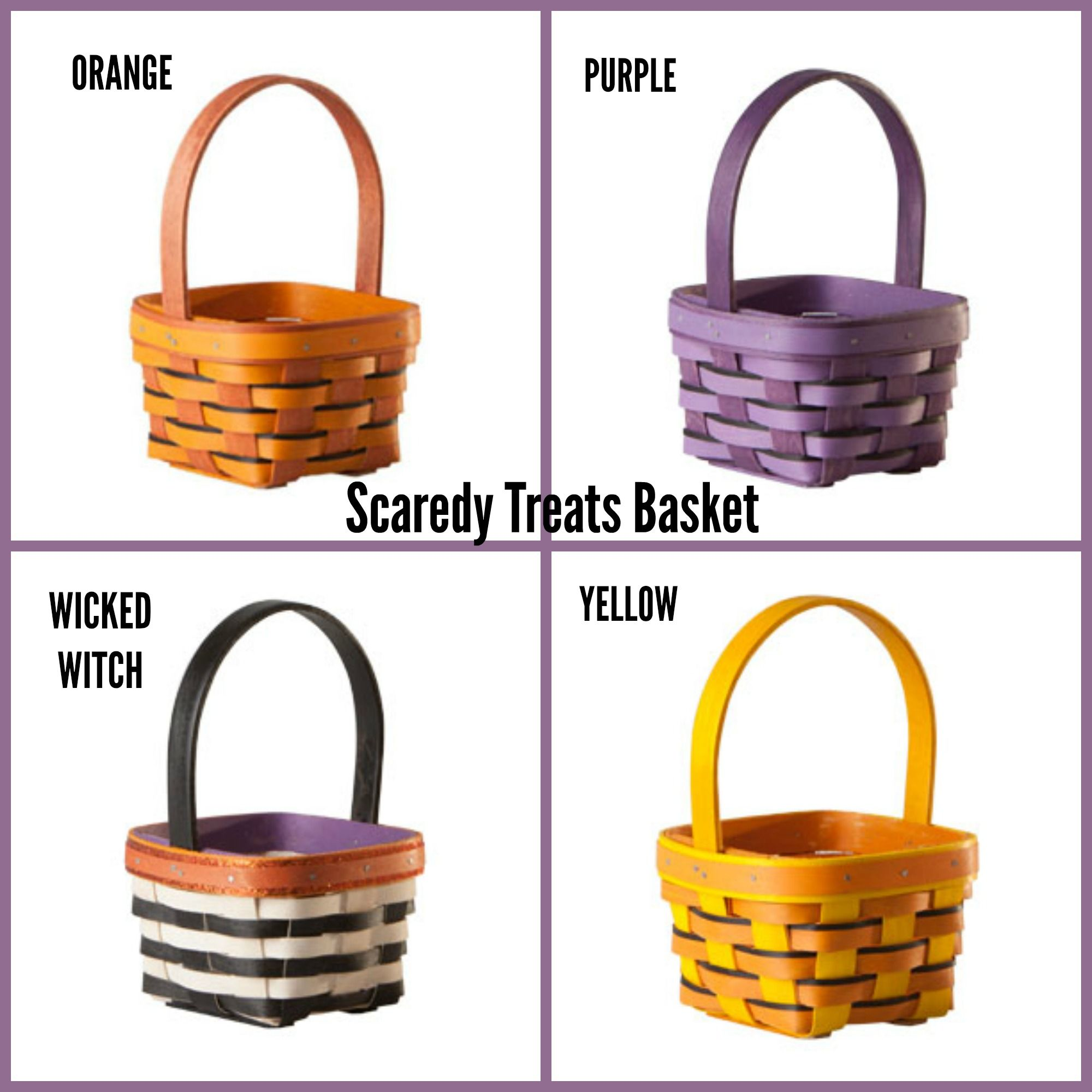 No Trick...just Treats. Early offer on the Scaredy Treats Baskets ...
