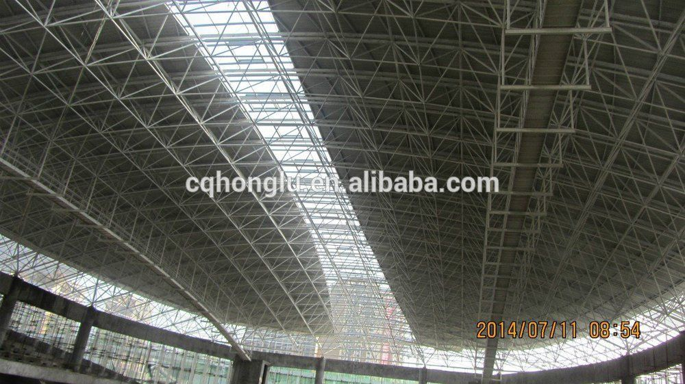 Space Frame Structure Stadium Steel Roofing Buy Stadium Steel Roofing Stadium Steel Roofing Product On Alibaba Com Roof Architecture Roof Repair Metal Roof