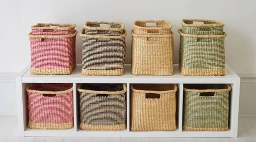 Image Result For Woven Storage Baskets South Africa Cube Shelves