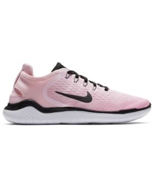 ce142fe4bd23c Nike Women s Free Run 2018 Running Sneakers from Finish Line - Red ...