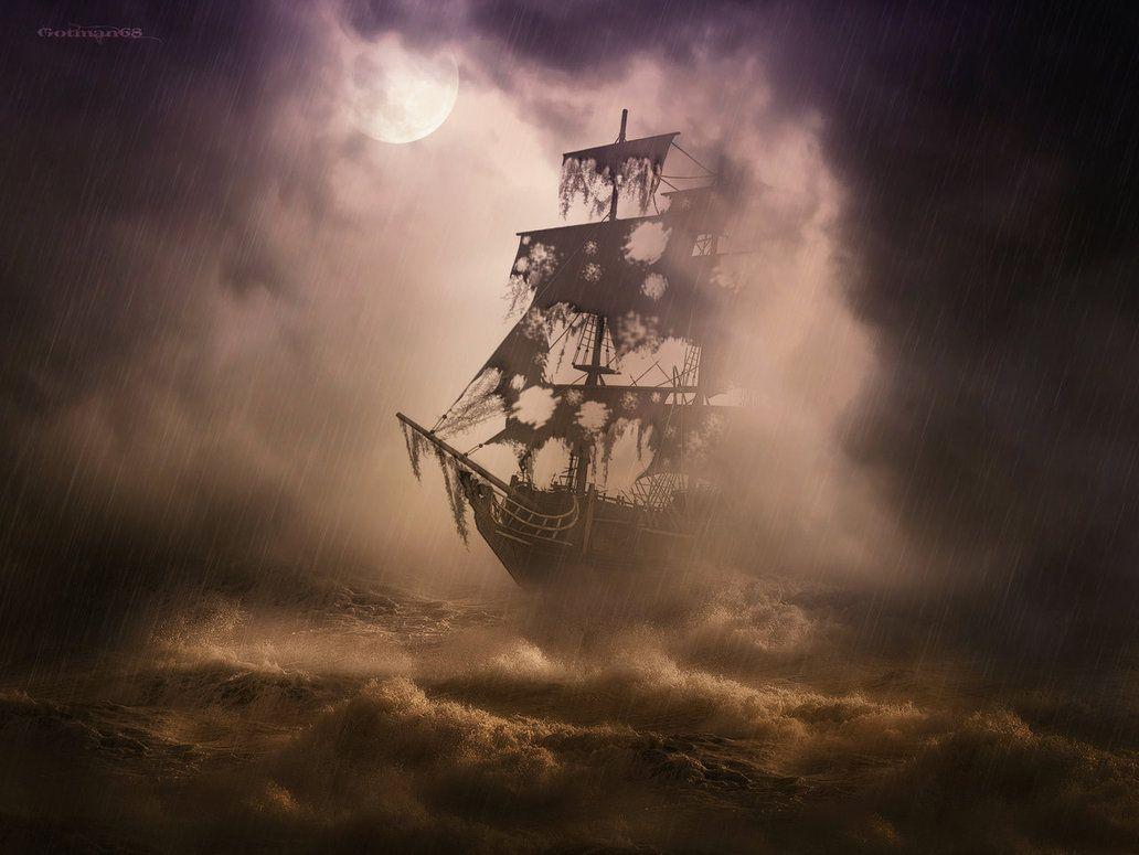 The Black Pearl by gotman68 | Bateau fantôme, Peinture bateau ...