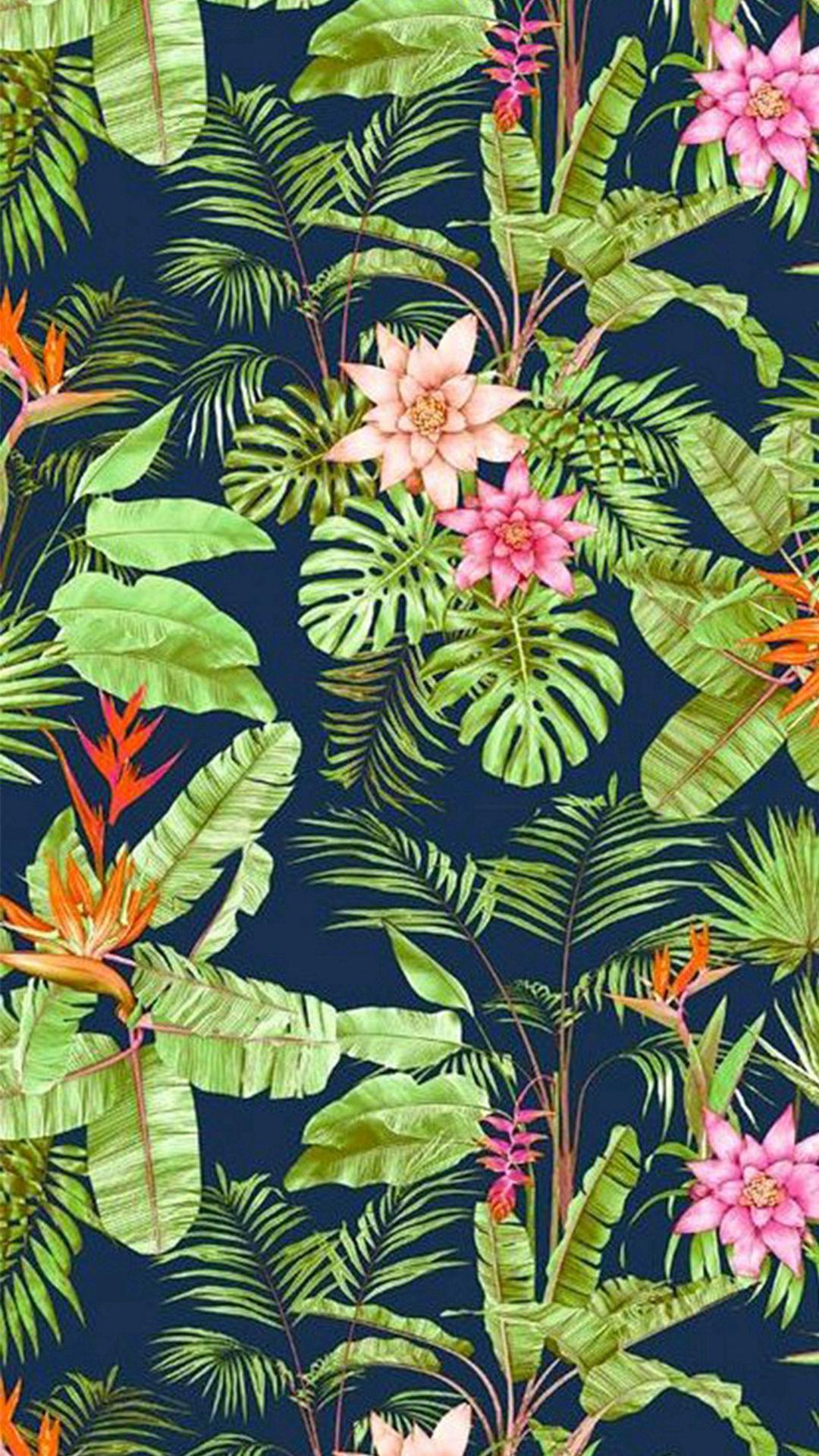 Flowers Jungle Vegetation #iPhone #6 #wallpaper | iPhone 6~8 Wallpapers