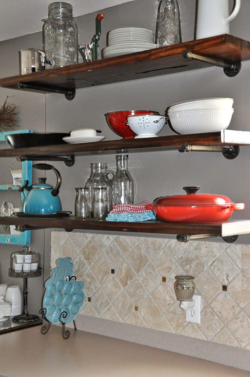 Diy Kitchen Shelves Diy Kitchen Shelves Kitchen Decor Diy