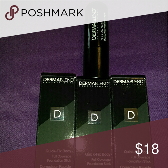 Dermablend full coverage foundation Dermablend