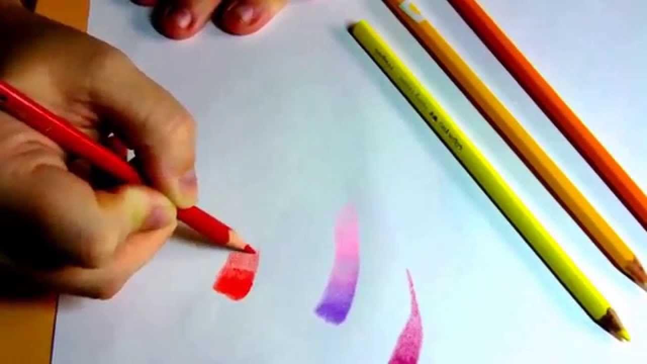 Les Degrades Crayon De Couleur Crayon