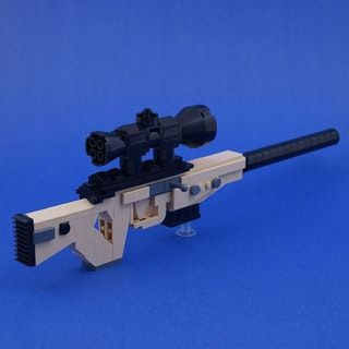 Fortnite BR Bolt Action Sniper Lego My Inner Brick Nerd Lego Guns Lego Military Amazing