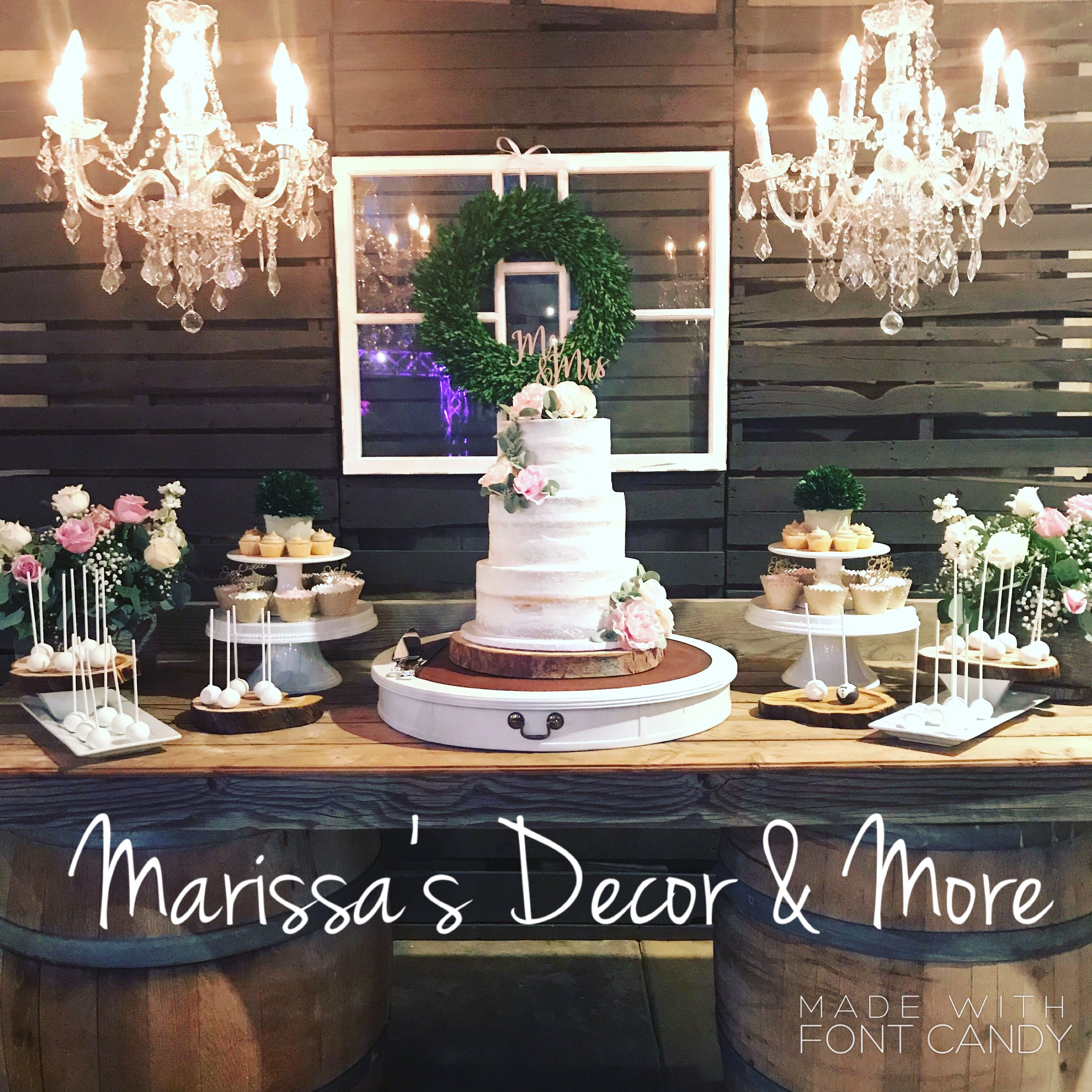 Rustic Wedding Cake Table Wedding Cake Table Rustic Wedding Cake Table Decorations