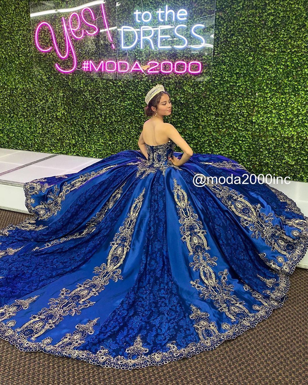 Moda 2000 On Instagram Made For Royalty Book Your Appointment To Say Yes To Your Dream Quinceanera Dresses Blue Quince Dresses Pretty Quinceanera Dresses [ 1350 x 1080 Pixel ]