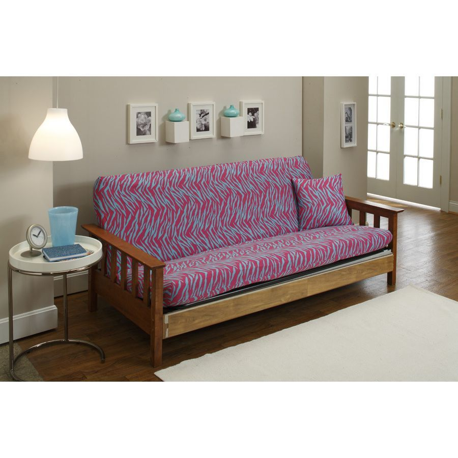 Sanctuary Stretch Jersey Zebra Futon Slipcover Multi Knit Animal