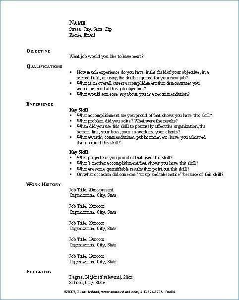 headlines for resume examples